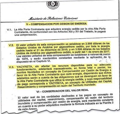 Acuerdo prevé un ínfimo incremento por la energía paraguaya de Yacyretá