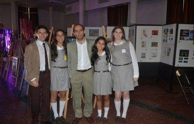 Expo diseño en el Colegio Teresiano