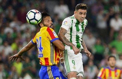 Choque Betis-Alavés, sin Romero