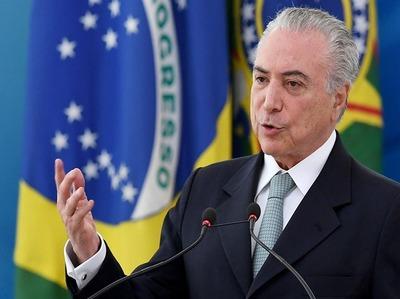 Temer adelantó que Venezuela puede ser separado del Mercosur