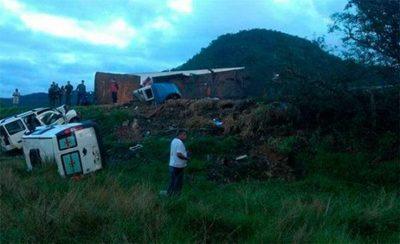 Accidente múltiple de tránsito, dejó al menos 15 muertos en Brasil
