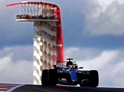 Lewis Hamilton consiguió la Pole en EE.UU.