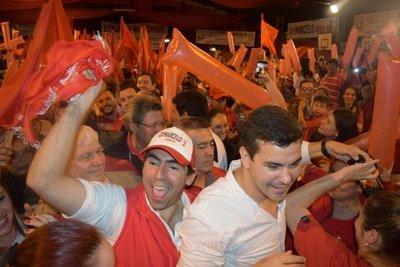 Acto central de gira oficialista en Caaguazú