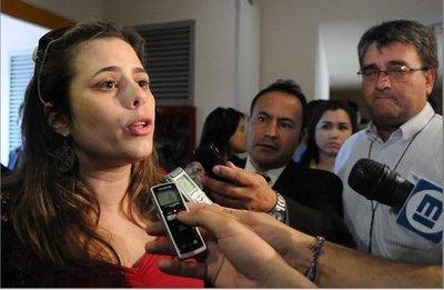 Amenazan de muerte a Kattya González