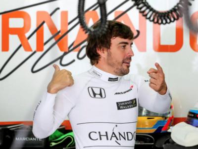 Alonso se retira por un problema con el motor