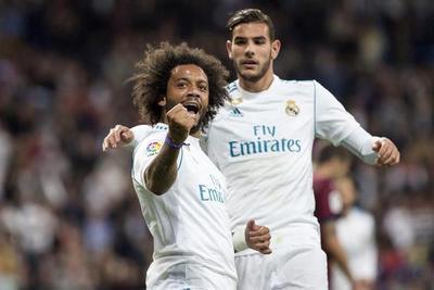 Real Madrid no tuvo problemas ante el Eibar