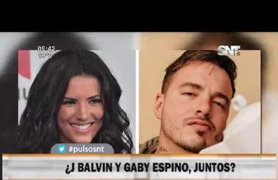 ¿J Balvin y Gaby Espino, juntos?