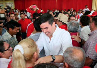 """Santi Peña: """"El contacto con la gente nos llena de optimismo"""""""