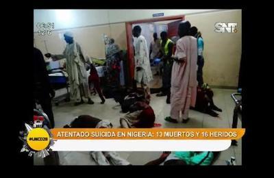 Compacto de noticias: Ataque suicida en Nigeria deja 13 muertos