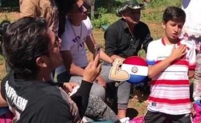 Nelson Haedo Y El Video Que Publicó Junto A Su Familia Cantando El Himno Nacional