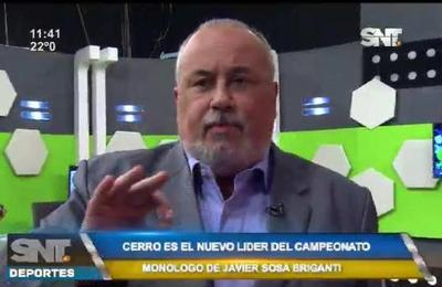 Monólogo de Javier Sosa Briganti para Cerro