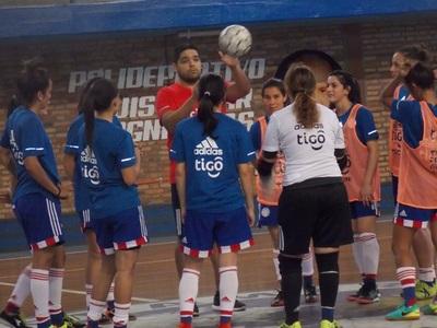 Albirroja de Futsal ya entrena en Sol de América de cara a la Copa América