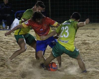 Ya están los cuatro mejores del Metropolitano de Fútbol Playa