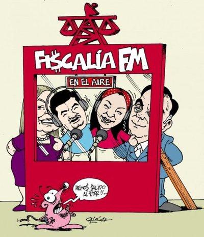 Díaz Verón nombró a locutores de su radio como funcionarios de Fiscalía