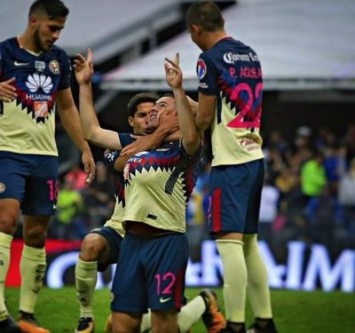 América elimina al Cruz Azul con gol de Aguilar