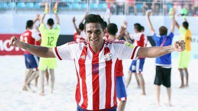 Paraguay debuta ante Irán en torneo de fútbol playa