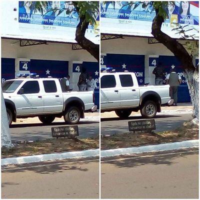 Proselitismo con vehículo municipal