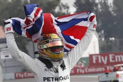 F1: Lewis Hamilton es tetracampeón