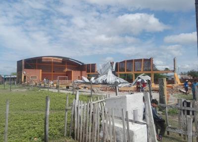 Aceleran asistencia a pobladores afectados por temporal en el Norte