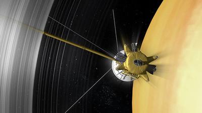 La NASA muestra una vista del hemisferio norte de Saturno
