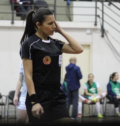 Rosa Bareiro será árbitra paraguaya en Copa América de Futsal Femenino