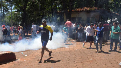 Mutuas denuncias tras gresca entre zacariístas y opositores