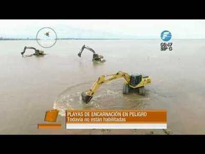 ¿Las playas de Itapúa llegarán para el verano?