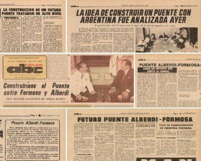 Alberdi-Formosa: 50 años de un puente que no fue