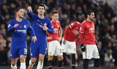 Chelsea hunde al United y deja vía libre al City