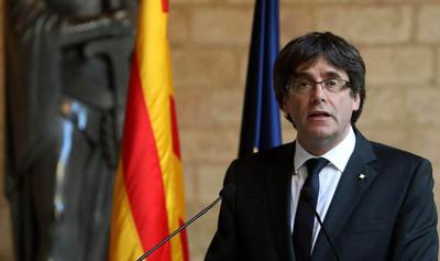 Puigdemont criticó al gobierno español tras quedar en libertad condicional en Bruselas