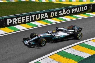 Hamilton y Bottas lideran en pruebas de Brasil