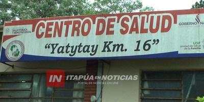 OTRO CUADRO SOSPECHOSO DE CHIKUNGUNYA EN YATYTAY