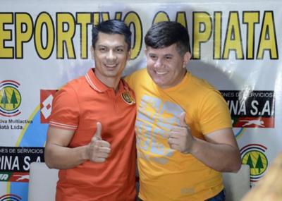 Gustavo Florentín quiere seguir en Capiatá