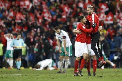 Rodríguez guía a Suiza hacia el Mundial de Rusia