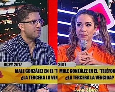 Tenso cruce entre Male González y Arturito Villasanti