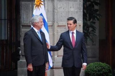 Peña Nieto y Tabaré Vázquez se reúnen para relanzar el Tratado de Libre Comercio entre México y Uruguay