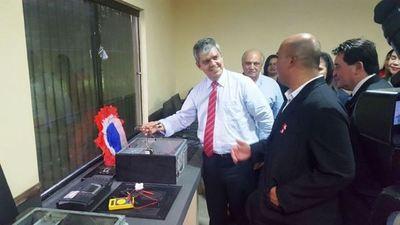 Inauguran laboratorio informático en colegio de Guairá