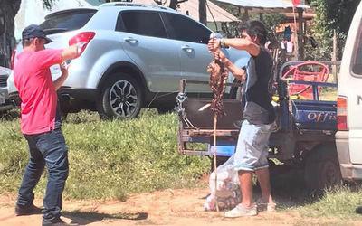 ¡Increíble! En Villarrica roban asado del cumpleaños de Friedmann