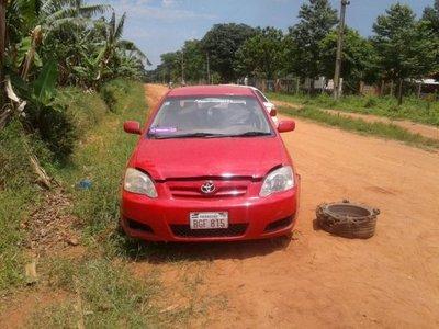 Buscan a propietario de un vehículo abandonado