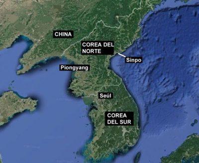 Corea del Norte, lanza sin éxito un misil