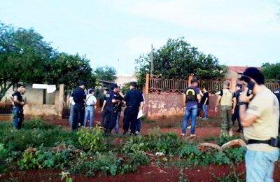 Dos detenidos por el asalto y tiroteo en Guahory