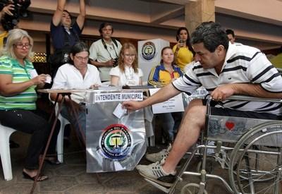 MÁS DE 5.000 PERSONAS VOTARÁN MEDIANTE MECANISMO DE ACCESIBILIDAD ELECTORAL