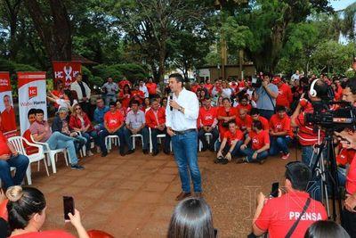 Peña pide en Encarnación dar continuidad al progreso del país