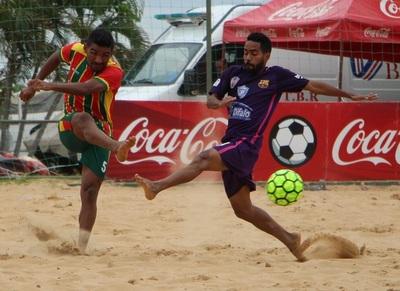 Sampaio Correa fue quinto en esta Conmebol Libertadores de Playa