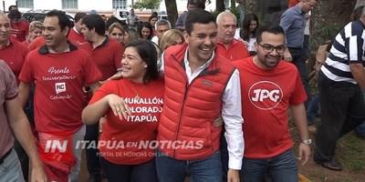 """SANTI PEÑA: ENCUENTRO """"COLORADOS DE BIEN EN ENCARNACIÓN"""