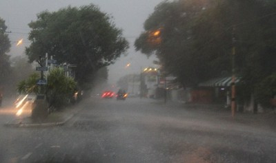 Alerta meteorológica para 9 departamentos