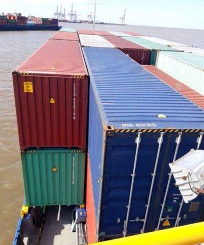 Exportaciones de nuestro país siguen varadas en Montevideo