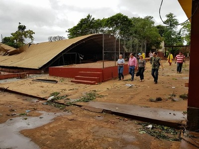 Escuelas públicas del Este sufrieron daños