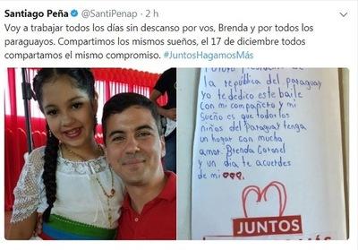 """""""Mi sueño es que todos los niños del Paraguay tengan un hogar"""""""