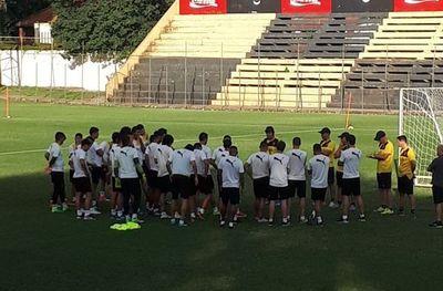 Guaraní volvió a los entrenamientos